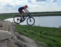 Portage cyclist Kailen Shackleton, pictured, will be representing Manitoba at the upcoming Canada Summer Games in Winnipeg. (Submitted)
