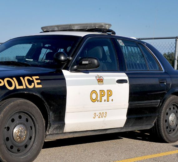 Driver collides with full school bus, say OPP