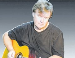 Murray Snelgrove plays at the Boar's Head Pub in Stratford Friday night. (Special to Postmedia News)
