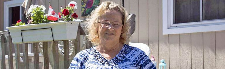 Jo-Ann Sloan moved to River Valley Park in June, only to be served with notice the same day.