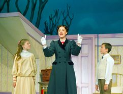 Jayme Armstrong plays the title character, with Hadley Mustakas as Jane and Trek Buccino as Michael, in a 2013 production of Mary Poppins. This summer, Armstrong is directing a production of Beauty and the Beast at the Huron Country Playhouse.