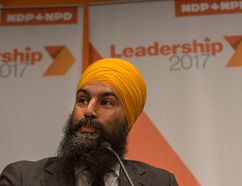 Jagmeet Singh. (File photo)