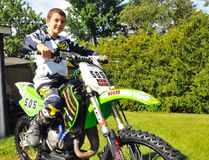 Simcoe resident Hayden Cusworth, 11, has become a fixture within the Thames Valley Riders motocross club. Hayden, who is deaf, has been racing for a couple years now. JACOB ROBINSON/Simcoe Reformer