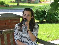 With the help of dietitian Jessica Hrgetic, KFL&A Public Health launched the Choose Water campaign, which started on July 15, encouraging parents to skip the sugary drinks and offer water to their children instead. (Megan Glover/For the Whig-Standard)