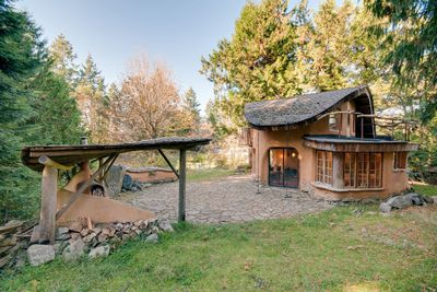 """<p><a href=""""https://www.airbnb.ca/rooms/1720832?location=canada&amp;s=2sT9ATX5""""><strong>Unique Cob Cottage &ndash; Mayne Island, B.C. - from $160 per night.</strong></a></p> <p>Described as &quot;a welcoming and cozy retreat hand sculpted of local, sustainable natural materials located on a lovely acreage with sheep, gardens and orchards,&quot; this one-bedroom cottage accommodates two people and has more than 250 glowing reviews.</p>"""
