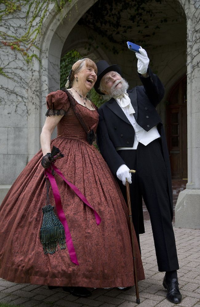 Cathy Stephens and her husband William will attend the Confederation Ball at Fanshawe Pioneer Village on Saturday. Cathy Stephens will teach the steps earlier in the day and call the dances at the ball, so even people with zero experience can participate. (DEREK RUTTAN, The London Free Press)