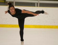 Justina Schulz of the Noralta Skating Club practices part of her routine Wednesday at MacDonald Island. Robert Murray/Fort McMurray Today/Postmedia Network