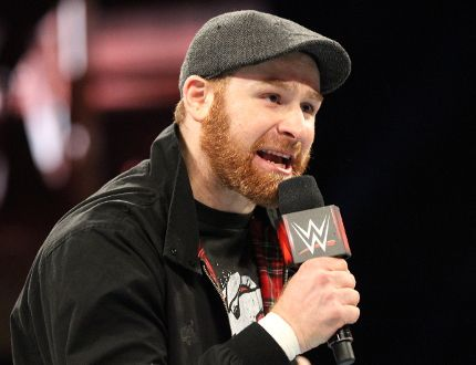 World Wrestling Entertainment superstar and Montreal-born Syrian Sami Zayn. (Courtesy of World Wrestling Entertainment)