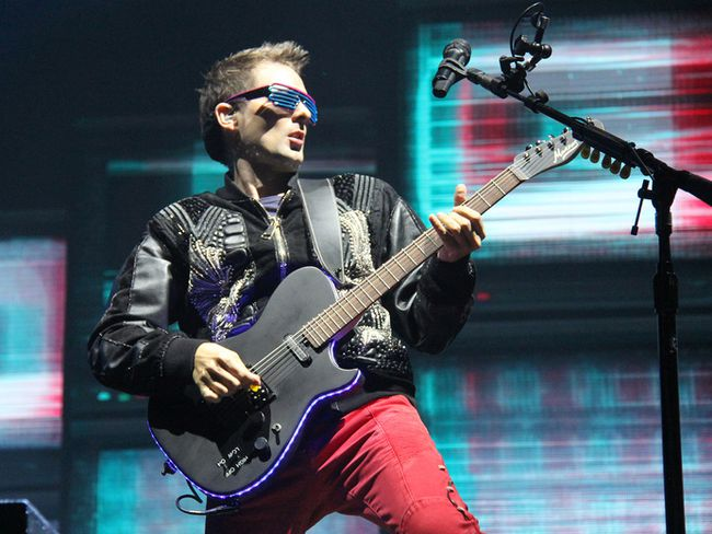 Muse performs at the Osheaga Music and Arts Festival in Montreal on Saturday, August 5, 2017. (Photo: John Williams, Special to Postmedia Network)