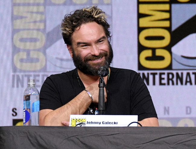 "Johnny Galecki attends ""The Big Bang Theory"" panel at Comic-Con International on Friday, July 21, 2017, in San Diego. (Al Powers/Invision/AP)"