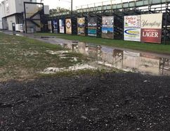 A much-anticipating weekend of dirt track racing that began with rainouts at Ohsweken Speedway and Ransomville Speedway, pictured, wrapped up with a postponement of Merrittville Speedway's special Civic Holiday program Monday night.