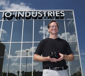 IO Industries Inc. president Andrew Sharpe is happy to have landed a contract with Microsoft which could lead to a potential $17-million market. His company manufactures high-definition cameras that can be used to create holograms, widely considered to be cutting-edge technology.  (Derek Ruttan/The London Free Press)