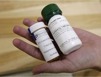 Bottles of the abortion-inducing drug Mifegymiso, known internationally as RU-486, are shown in this file photo. Women in Ontario will have access to the free abortion medication, which is a combination of the drugs mifepristone and misoprostol, as of this Thursday.