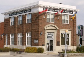 Transcona Historical Museum, which used to be a bank, at the corner of Regent and Bond. Brian Donogh/Winnipeg Sun