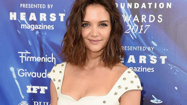 Katie Holmes.  (Nicholas Hunt/Getty Images for Fragrance Foundation)