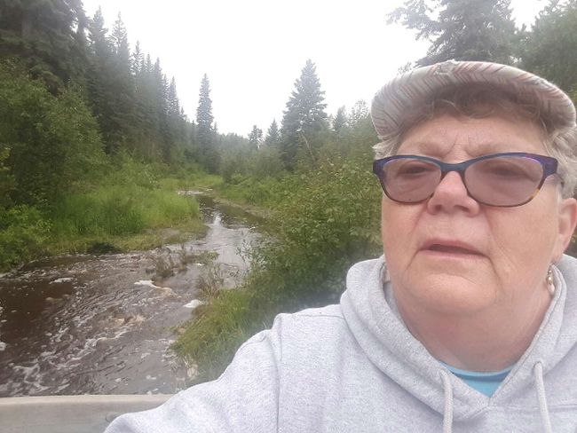 Athabasca RCMP retrieved Bruderheim councillor Virginia Differenz by quad after she came across two black bears during an early morning walk on August 1 along the Muskeg Creek Park trails.