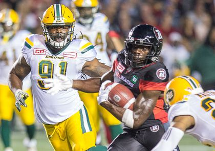 Esks Redblacks Howard