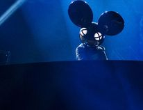 Deadmau5 performs during the 2015 Juno Awards in Hamilton, Ont., on March 15, 2015. The Canadian DJ, real name Joel Zimmerman, was married on Saturday. (Nathan Denette/The Canadian Press/Files)