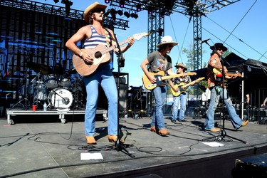 The band Midland - not named after the Simcoe County town - was a big draw to the Front Porch Stage at Boots & Hearts Music Festival, Sunday, August 13, 2017 at Burl's Creek Event Grounds in Oro-Medonte. Patrick Bales/Postmedia Network