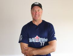 <p>Cornwall's Steve McGillis, a veteran fastball pitcher who's already had a busy summer at the slab, is off to the world fastball championships in Michigan, throwing for the Toronto Barracks squad. Photo on Monday, August 14, 2017, in Cornwall, Ont. </p><p>Todd Hambleton/Cornwall Standard-Freeholder/Postmedia Network