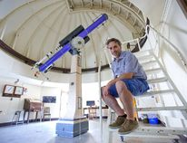 """Prof. Jan Cami, director of Western University's Hume Cronyn Memorial Observatory, says Monday's solar eclipse promises to be """"an amazing event."""" Don't look directly at the sun without special protective glasses, however. (DEREK RUTTAN, The London Free Press)"""