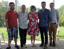 The Renfrew-Nipissing-Pembroke Liberal Electoral District Assocation (EDA) held their second annual Your Voice Your Canada Blueberry Social with Ottawa West-Nepean MP Anita Vandenbeld in attendance to answer questions and gather feedback. In photo (from left) are Renfrew-Nipissing-Pembroke Liberal EDA communications coordinator Oliver Jacob, local Liberal EDA president Bill Stevens, Anita Vandenbeld, official past Liberal candidate for Renfrew-Nipissing-Pembroke Jeff Lehoux and local Liberal EDA community coordinator Kordell Walsh.
