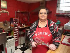 Queen's Cakes - named after the many kings and queens of India, the native land of owner Cheryl Thomas -- is a home-based bakery located on 1344 Sparks St.