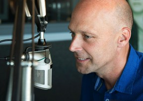 Taylor Bertelink/The Intelligencer More than 10 years in the country music industry, Paul Ferguson is in his element while in the studio. To him, radio has become a lifestyle and one that he loves.