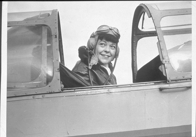 FLIGHT PIONEER MARION ORR.