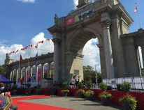 The CNE opens with heightened security. (MICHAEL PEAKE/Toronto Sun)