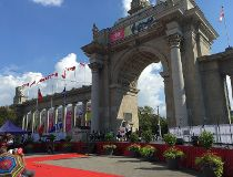 CNE opens with heightened security
