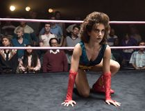 "Alison Brie in ""GLOW."" (Erica Parise/Netflix/Supplied)"