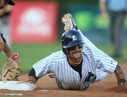 Chris McQueen of the London Majors (Free Press file photo)