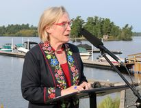 Indigenous and Northern Affairs Minister Carolyn Bennett announced the federal government will contribute $16 million to 17 different Treaty 3 First Nations for housing and $1.2 million to support eight water infrastructure projects during her visit to Wauzhusk Onigum First Nation on Friday, Aug. 18. Kathleen Charlebois/Daily Miner and News