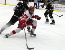 Carter Tresoor's options for the 2017-18 hockey season opened wider April 8 when the Kitchener Rangers called his name in the OHL Priority Selection Draft (Round 6, 112nd overall). SHERI LAMB/Daily Miner and News/Postmedia Network