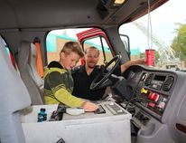 All manner of truck and tractor was available to explore on Saturday at the Touch A Truck Event.