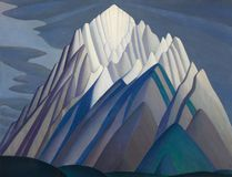 =Mountain Forms is the iconic Rocky Mountain canvas by Group of Seven founder Lawren Harris. The Brant Colours Plein Air Event, Sept. 21 to 24, celebrates the Brantford birthplace of Harris. (Postmedia Network)