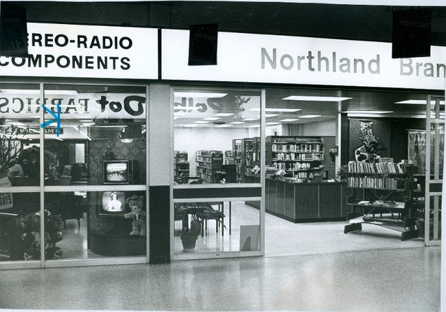 Northland Branch Library, 1972. (London Free Press files)