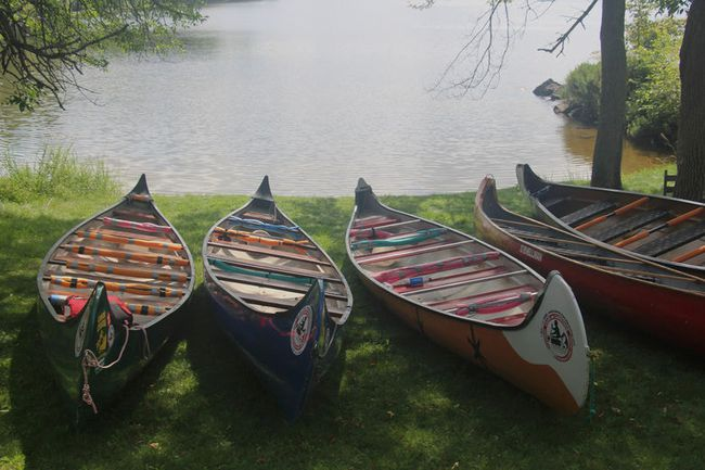 Thirty paddlers with the Canadian Canoe Pilgrimage arrived in North Bay in July as part of a month-long trip from Midland to Montreal to promote dialogue between the Indigenous and non-Indigenous peoples of Canada. Nugget File Photo