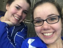 Lindsay (left) and Chelsea Wandziak, coaches at Sudbury Synchronised Swimming Club, are set to start the club's 14th season, this week in Copper Cliff with the club's annual training camp.