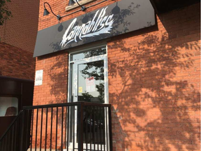 The Cannabliss marijuana shop on Preston Street was raided by police on Aug. 21, about three weeks after it opened its doors. It reopened by Aug. 24. (Jacquie Miller, Postmedia)