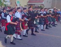 Victoria Park Kincardine hosted the 27th Annual Gathering of the Bands Festival and it went on from noon to midnight on Aug. 26, 2017, with pipe bands from Teeswater, Goderich, Wiarton, Sarnia, Forest Cambridge, the Ontario Fire Services and more entertaining, with the Mass Band Parade at 8 p.m. (Photo shared by Shirley Hartwick)