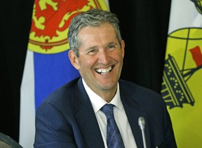 Manitoba Premier Brian Pallister is working to return Manitoba's budget to balance. The NDP have been quick to criticize Tory plans but haven't been able to provide any alternatives. LARRY WONG/POSTMEDIA Files