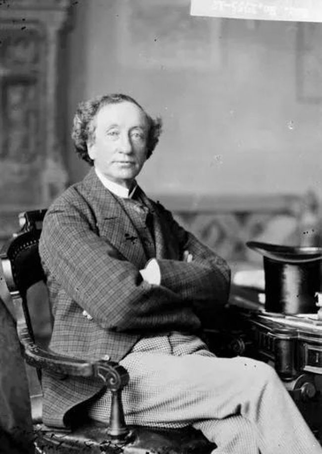 Sir John A. Macdonald. (Source: Library and Archives Canada)