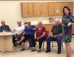 PHOTO SUPPLIED Minister of Seniors and Housing Lori Sigurdson visited Fairview on Aug. 23.