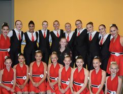 The Airdrie Sky High Twirlers (ASHT) were competing at the 2017 International Cup in Porec, Croatia from Aug. 9-13. Pictured here, is the ASHT Journey group. Back row: Kendall Patton. Emily Lewall, Miyah Kailey, Meghan Schulz, Mikayla MacDonald, Hayley Hegland, Claire Zeeb, Brittany Denroche, Taelyr Patton, Emily Mathewson. Middle: Jurni Pruden. Front Row: Kadence D'Haene, Anna Wiedemann, Kayley White, Malina Seredinski, Megan Smith, Brooke Mauro, Hannah Cooper and Paige Epp.