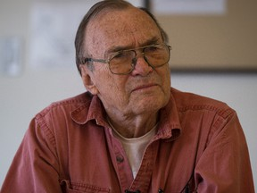Strathcona Place Senior Centre resident Raymond Lapointe is a senior that lives in a seniors residence that also has rooms set aside a few rooms for university students on Thursday August 31, 2017, in Edmonton.