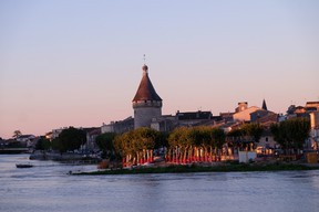 Libourne is a fine town in the Bordeaux Region, with lovely, walkable streets and a fine central market. JIM BYERS PHOTO