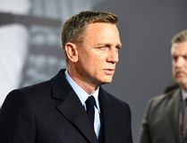 This file photo taken on October 28, 2015 shows British actor Daniel Craig at a photocall for the James Bond film 'Spectre' in Berlin. (TOBIAS SCHWARZ/AFP/Getty Images)