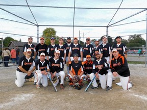 Winning the annual Labour Day Fastball Tournament for the second year in a row, the Goderich Grizzlies. Grizzly players: Nick Laporte, Devin Johnston, Jake Moulton, Justin Laporte, Darren Scholl, Mike Millian, Chace Duckworth, Adam Durst, Carson Lamb, Jamie Stanley, Marc Miller, DJ Stevenson, Ryan Olmstead, Zac Durst, Christ Wraith, Jason Duckworth, Steve Hewitt, Dwayne Laporte, Mike Bosch and Ty Sebastian.